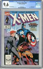 X-Men  #268 CGC  9.6   NM+  White pages 9/90  Captain America & Black Widow App.