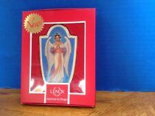 Lenox - Ebony Visions - Her Sentinel Angel Ornament - Rare