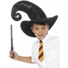 Boys Girls Wizard POTTER KIT Hat Tie Wand Fancy Dress Costume World Book Week