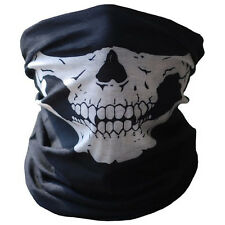 Latest Bicycle Ski Skull Half Face Mask Ghost Scarf Multi Use Neck Warmer COD UK