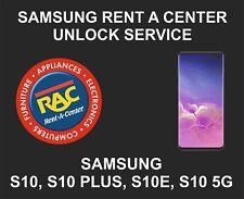 Samsung Rent a Center Unlock Service, Samsung S10, S10 Plus, S10E, S10 5G