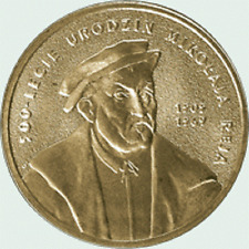 Poland / Polen - 2zl Mikolaj Rej (1505-1569) - 500th Anniversary of the Birth