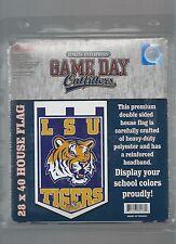"LSU Tigers 2 Sided House Flag Banner 28"" x 40"" Premium Flag"
