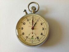 Très Rare Chronomètres OMEGA Chronographe Olympique Jeux Berlin 36 Avec Livre