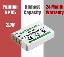 NP-95 NP95 Battery Fujifilm Finepix X100 F30 F31fd Real 3D W1 2 Year Warranty