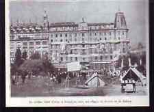 1936  -- BARCELONE  HOTEL COLON EFFIGIES LENINE STALINE