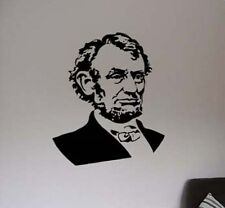 Honest Abe Lincoln Room Design Vinyl Wall Sticker Decal