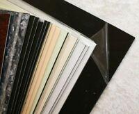 black schwarz Pickguard Rohling Platte einlagig
