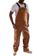 Carhartt Denim Dungarees - Brown bib overall men's work dungaree mens dungaree