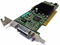 G55MDDAP32DSF G550 32MB PCI SFF DUAL MATROX GRAPHICS CARD WITH VGA SPLITTER