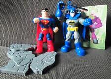 set of 2 DC Super Friends BATMAN SUPERMAN Ultimate Heroes Philippines Jollibee