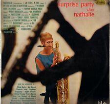 "COMPILATION ""SURPRISE PARTY CHEZ NATHALIE"" POP JAZZ LATIN 60'S LP BEL AIR STEREO"