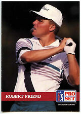 Robert Friend #140 PGA Tour Golf 1992 Pro Set Trade Card (C322)