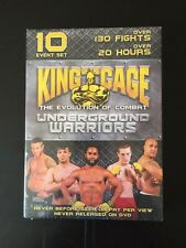 King of the Cage - Underground Warriors - Wrestling (NEW, DVD, 2006)