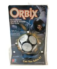 ORBIX Electronic Light and Sound Puzzle Vintage 1995 Milton Bradley New Sealed