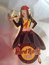 HRC HARD ROCK CAFE Munich inverno Breakfast Girl Pin 2005, le 150