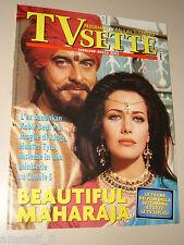 TV SETTE=1995/5=KABIR BEDI HUNTER TYLO=MAX PEZZALI=SIMPLE MINDS=SAMUELE BERSANI=