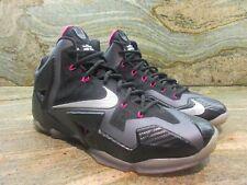 2013 Nike Lebron 11 XI Sample SZ 9 Miami Nights Carbon Fiber Promo James PE Pink