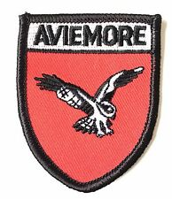Aviemore Scotland Embroidered Patch (AO62A)