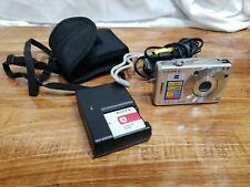 #AA) Sony Cyber-shot DSC-W70 7.2MP Digital Camera W/ Battery & Wall Charger