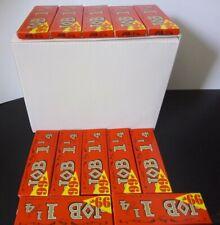 JOB Orange 1 1/4 Slow Burning Cigarette Rolling Papers 1.25  24 Packs