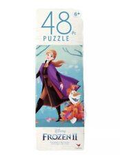 Disney Frozen II 2 Anna & Olaf 48 Piece Sealed Jigsaw Puzzle 10x9 Inches New