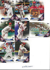 2016 Topps Update Philadelphia Phillies Team Set Tommy Joseph RC Aaron Nola RD 8