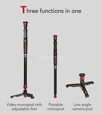iFootage Cobra 2 strike durable monopod with Low Profile Tripod up to 150cm/4.9""