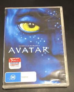 Avatar (2010 : 1 Disc DVD) Brand New Sealed in Plastic Region 4