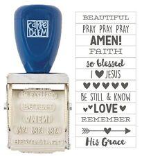 Simple Stories Carpe Diem Faith Collection Roller Stamp 7720