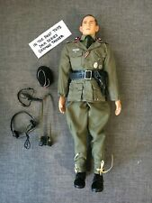 """Custom In The Past Toys 1/6 Scale 12"""" WWII German Panzer Division Tanker Figure"""