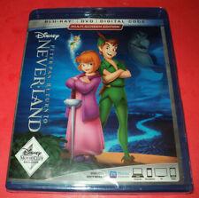 Disney PETER PAN ~ RETURN TO NEVERLAND (Blu-ray/DVD, Digital) New/Sealed ~ FreeS