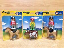 Playmobil 6972 & 6973 1.2.3 Farmer Farm Bundle Cow Horse Figures X3