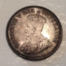 - 1923 Union of South Africa George V Half 1/2 Crown Proof only 1,402 minted