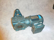 Sew Eurodrive SA47TDT71D4/DFT71D4 Gear Motor 1/2HP 128.10:1 Ratio Thru Shaft