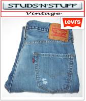 "VINTAGE LEVIS 514'S SLIM STRAIGHT JEANS W34"" L32"" APROX SIZE UK 18 (T418"