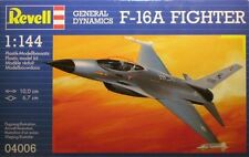 Revell 04006 General Dynamics F-16A Fighter Kit Plástico Escala 1/144 T48