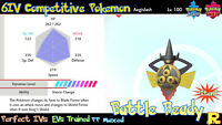 6IV COMPETITIVE AEGISLASH ⚔️ SHINY / ULTRA or NOT (+ITEM!) 🛡 SWORD & SHIELD