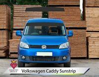VW Sun Strip Caddy Van Sunstrip Decals Volkswagen Any Colour Custom 11