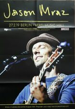 Jason Mraz Konzert Plakat Poster Berlin