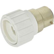 Light Bulb Adapter - B22 Bayonet Male To Mini GU10 Socket-Converter Cap 60W LED
