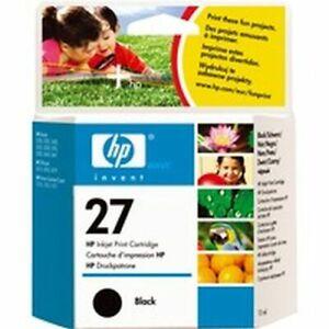 Genuine HP27 Black Inkjet Print cartridge C8727AE
