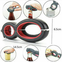 6 in 1 Twist Bottle Opener Soda Soup Can Jelly Wine Beer Jar Remover Multi-Tool