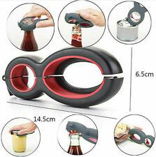 6 in 1 Twist Bottle Opener Soda Soup Can Jelly Wine Beer Jar Remover Multi-Tool