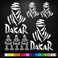 Compatible Dakar 12 Stickers Autocollants Adhésifs Moto Voiture Sponsor Marques
