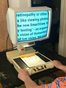 """OPTELEC B/W CLEARVIEW 300 317 REFURBISHED Low Vision Magnifier + 17"""" BRIGHT CRT"""
