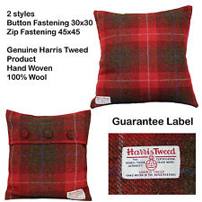 Checked Square 100% Wool Decorative Cushions