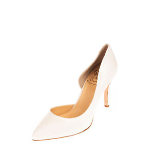 RRP €120  L'ARIANNA Leather D'Orsay Shoes EU 39 UK 6 US 9 Heel Made in Italy