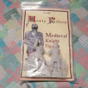 Monty Python Miniatures Model Medieval Knight Figures Unassembled Unpainted