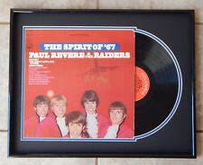 MARK LINDSAY Signed PAUL REVERE AND THE RAIDERS 1966 Record Album FRAMED DISPLAY